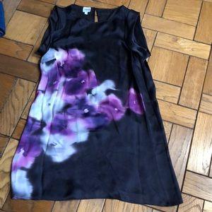 Armani Collezioni Silk Shift Dress